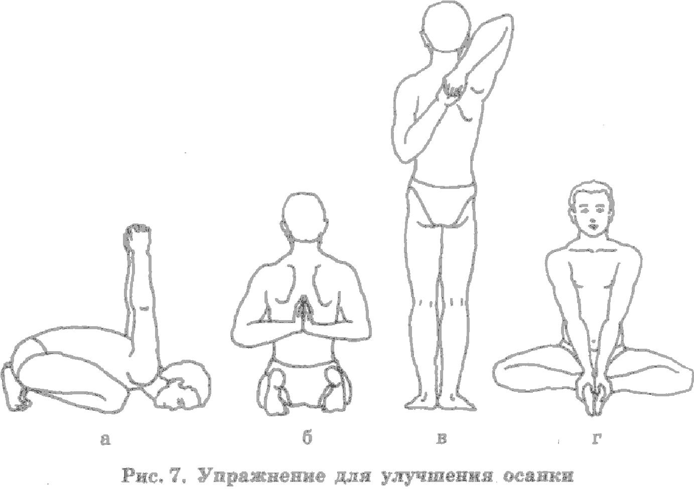 Упражнения как сделать осанку